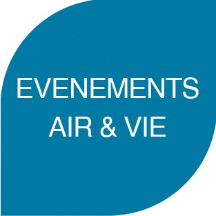 Air et Vie logo bouton site internet evenements
